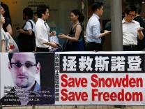 Edward Snowden, USA, Internet-Überwachung