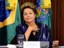 Dilma Rousseff Brasilien Proteste