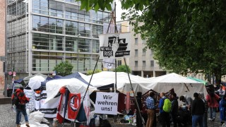 Hungerstreik in München Flüchtlinge im Hungerstreik