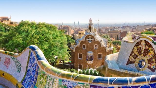 Barcelona Parc Guell Antoni Gaudi