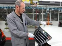 Mercedes-Benz S-Class Assembly At Sindelfingen Plant