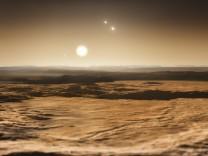 Die Aussicht vom Planeten Gliese 667Cd