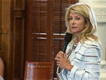 Wendy Davis Texas Filibuster Anti-Abteibung