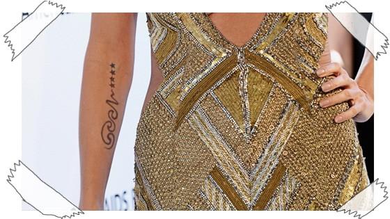 Promiblog Heidi Klum Seal Tattoo