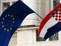 Kroatien feiert Aufnahme in die EU