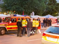 Hungerstreik in München