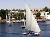 Felucke Nil Ägypten Assuan 2008