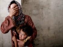 Syrien Frau Zivilisten Kind Aleppo