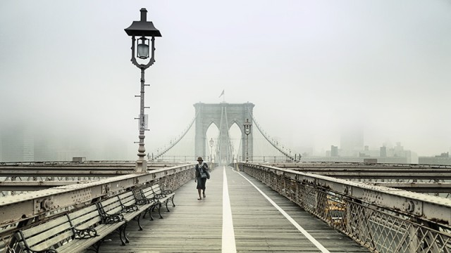 Walking The Brooklyn Bridge Rob van Kessel Fotograf Photocircle