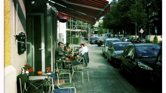 "Bar-Cafe ""München 72"" in München, 2012"