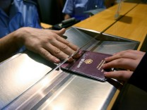 Passkontrolle Pass Einreise