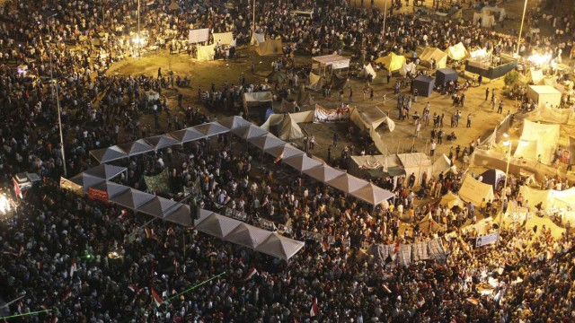 Proteste in Ägypten