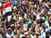 Proteste der Opposition in Kairo
