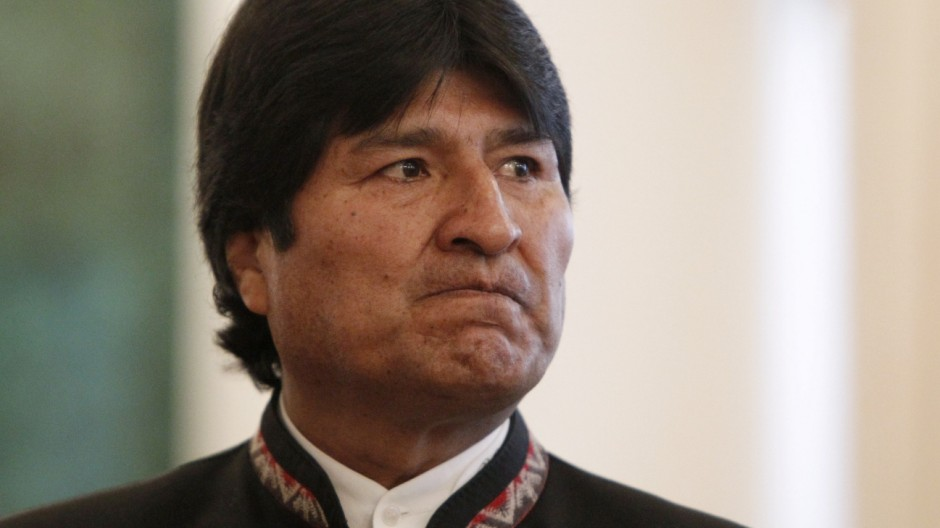 Evo Morales Bolivien