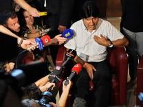 Evo Morales Snowden Bolivien Moskau USA