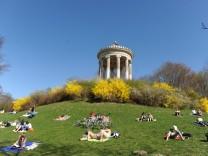 Frühling im Englischen Garten in München, 2011