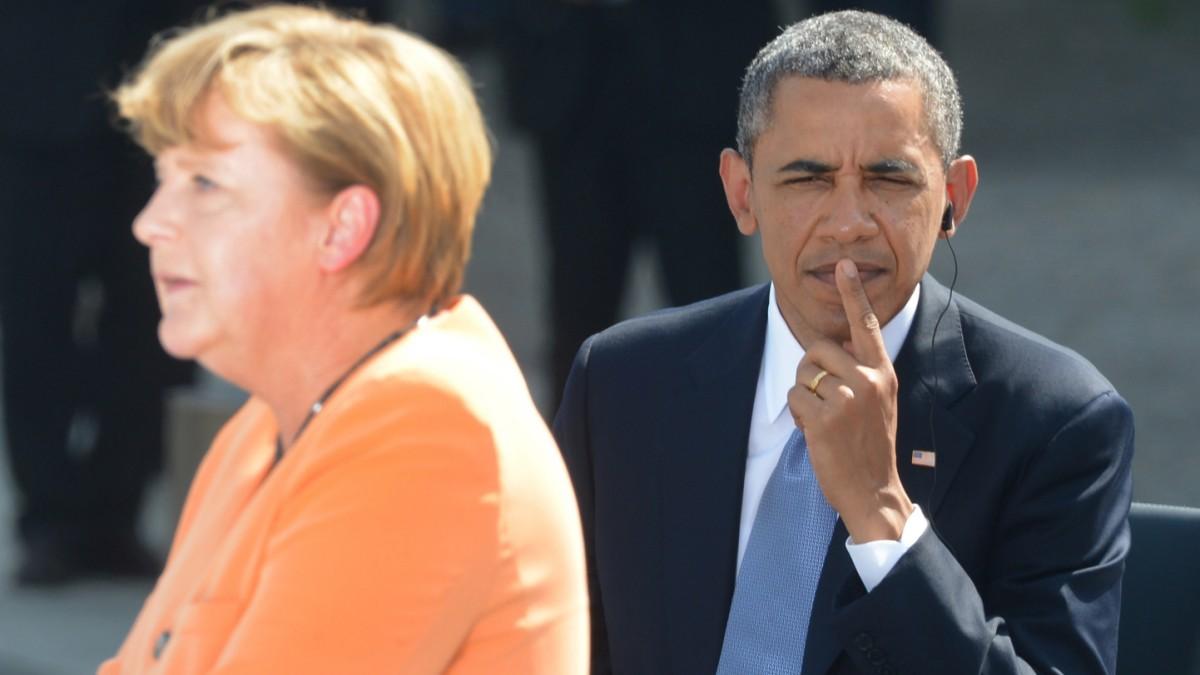 Obama spricht mit Merkel über US-Schnüffelei