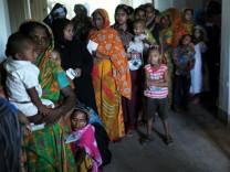 Krankenstation in Bangladesch