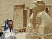 Urlaub in Ägypten, Tempel der Hatschepsut in Theben bei Luxor