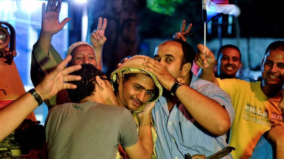 Proteste in Ägypten Umsturz in Ägypten