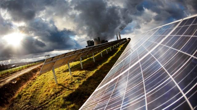 Solarpark in Nordrhein-Westfalen
