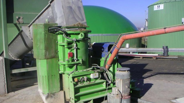 Alternative Energie Biogas