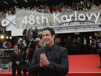 John Travolta beim 48. Internationalen Filmfestival in Karlovy Vary