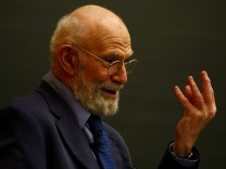 Neurologist Dr. Oliver Sacks Speaks At Columbia University