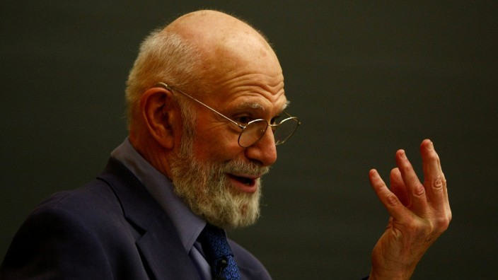 Neurologist Dr. Oliver Sacks Speaks At Columbia University