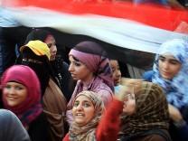 Frauen auf dem Tahrir-Platz