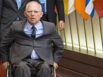 Euro-Finanzminister beraten über neue Milliarden an Griechenland
