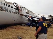 San Francisco Asiana Flugzeug Unglück