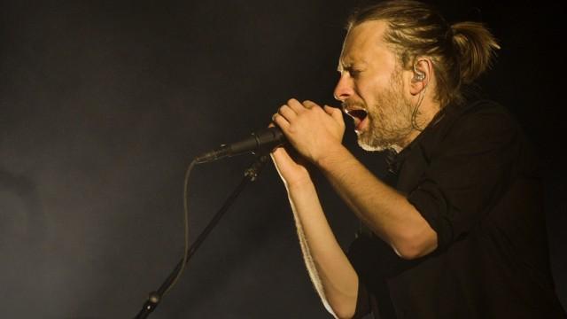Thom Yorke, Leadsänger der britischen Band Radiohead