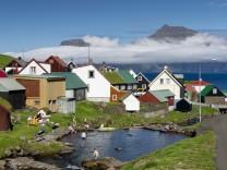 Siedlung auf den Färöer-Inseln