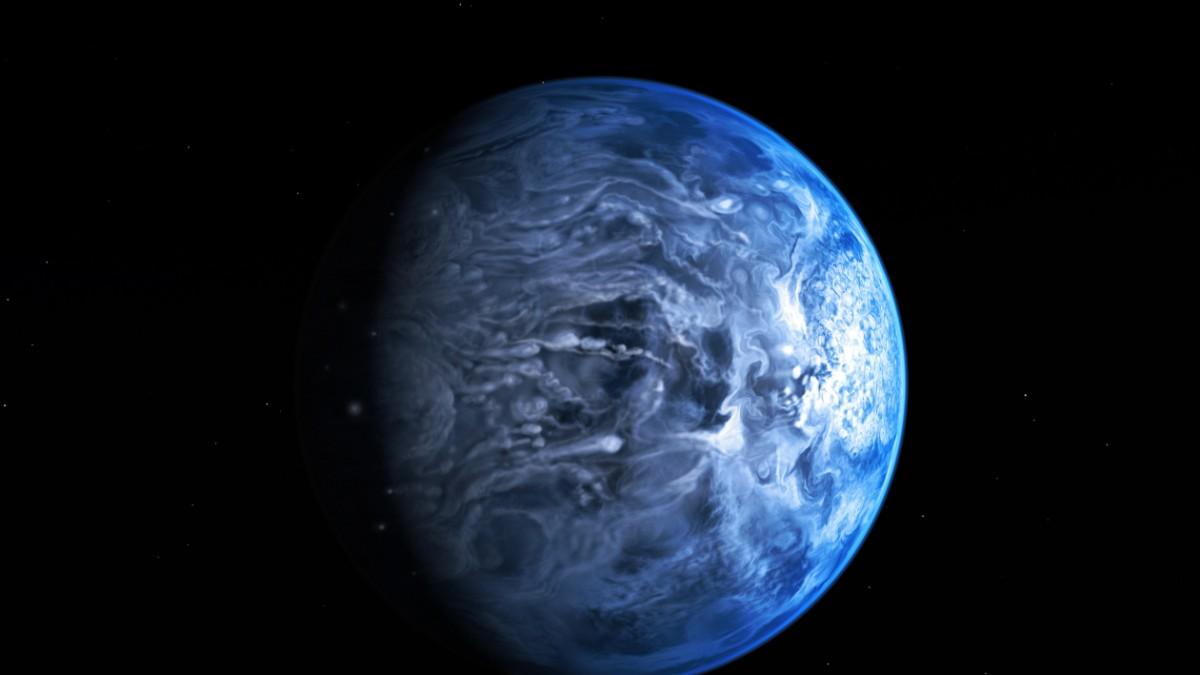 Nasa: hubble teleskop findet neuen blauen planet wissen