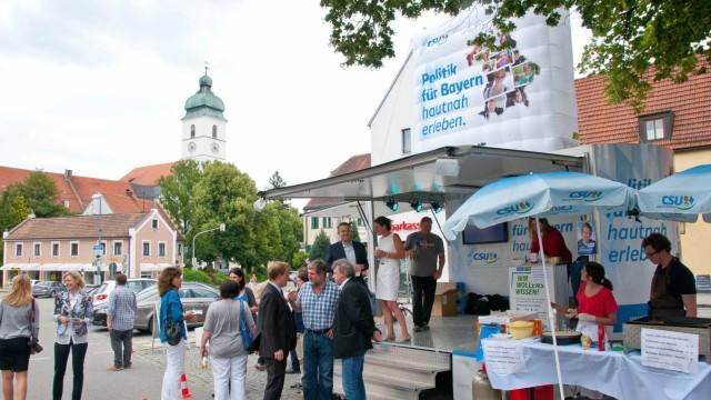 ebersberg Vor den Wahlen im September