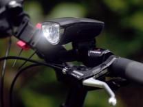 Akku-Lampe, Dynamo, Fahrrad