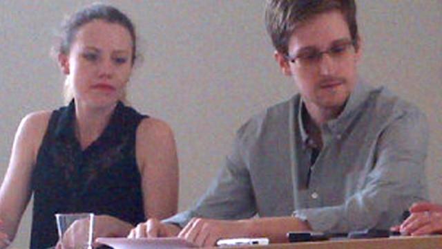 Edward Snowden Nach Ankunft in Berlin