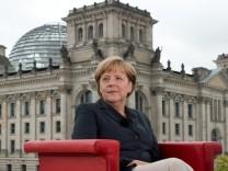 ARD-Sommerinterview Angela Merkel Prism Überwachung NSA