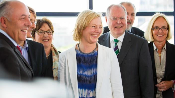 Arbeitssitzung Kompetenzteam Steinbrück