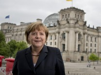 Angela Merkel beim ARD-Sommerinterview