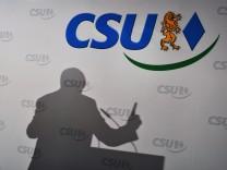 CSU-Vorstandssitzung - Horst Seehofer