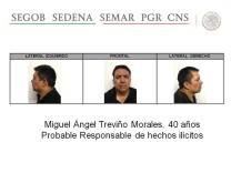 Drogenboss Miguel Ángel Treviño Morales Mexiko
