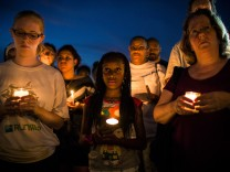 Harlem Holds Vigil For Trayvon Martin