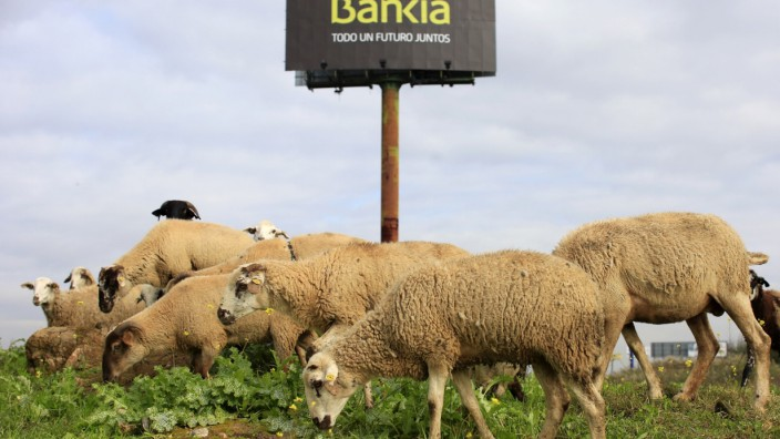 Bankia Andalusien Spanien