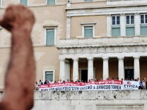 Griechenland, Demonstrationen Athen