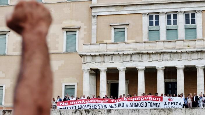 Griechenland, Demonstrationen Athen