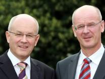CDU-Politiker Volker Kauder und Siegfried Kauder