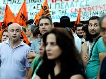 Griechenland Athen Proteste Schäuble