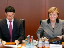 Merkel Rösler Koalition FDP CDU CSU Schwarz-Gelb